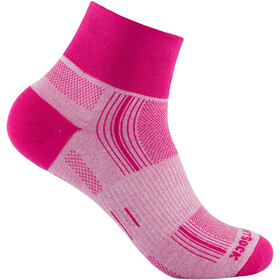 Wrightsock Stride Quarter - Chaussettes - rose